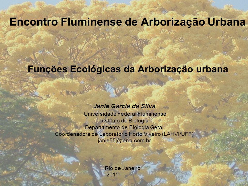 Encontro Fluminense de Arborização Urbana