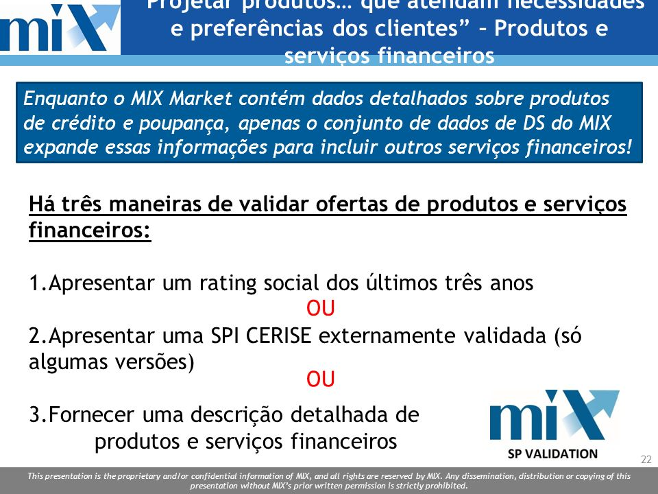 Projetar produtos… que atendam necessidades e preferências dos clientes – Produtos e serviços financeiros