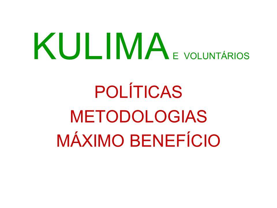 POLÍTICAS METODOLOGIAS MÁXIMO BENEFÍCIO