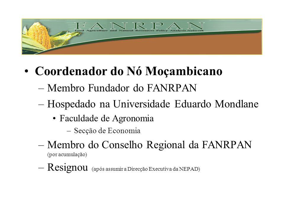 Coordenador do Nó Moçambicano