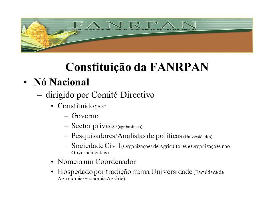 Constituição da FANRPAN