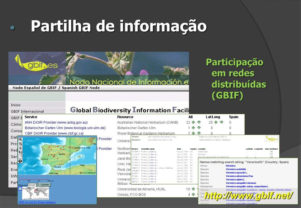 Partilha de informação