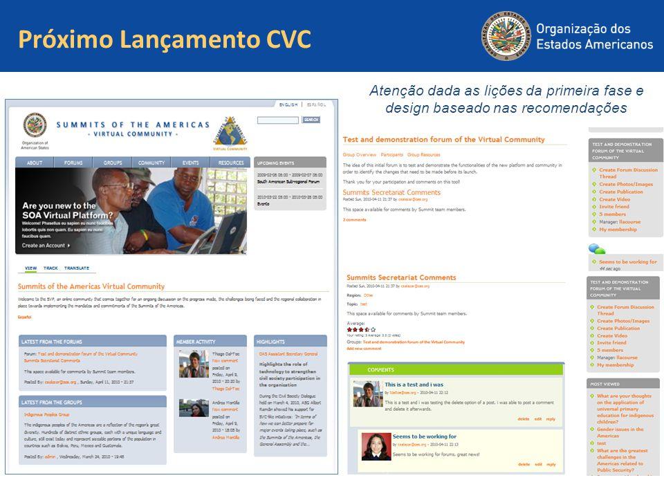 Próximo Lançamento CVC