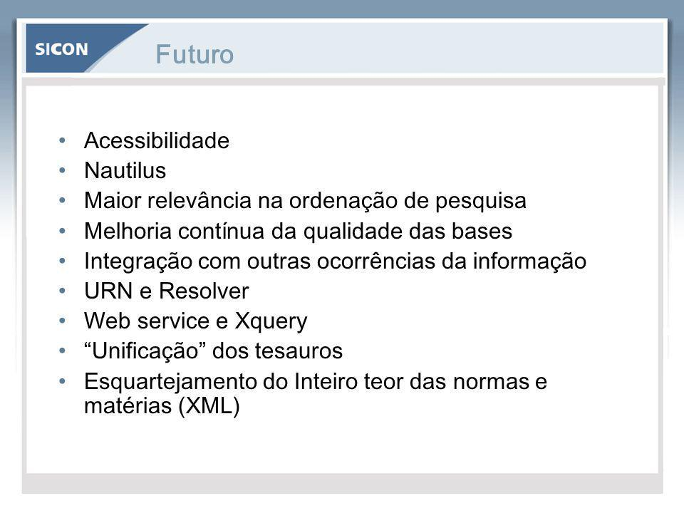 Futuro Acessibilidade Nautilus