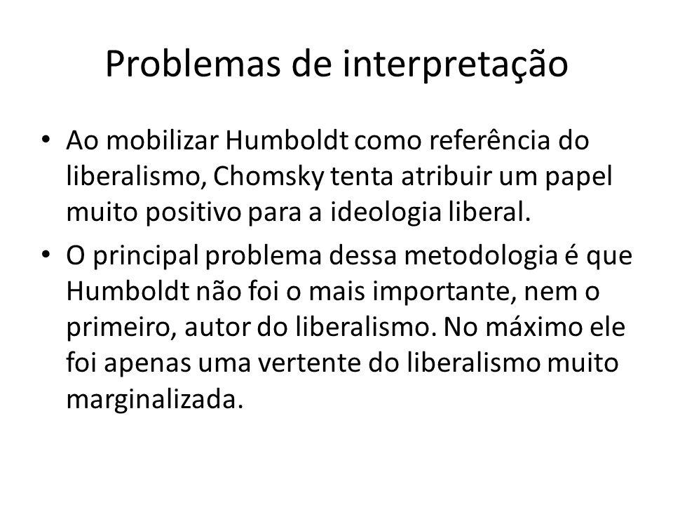 Problemas de interpretação