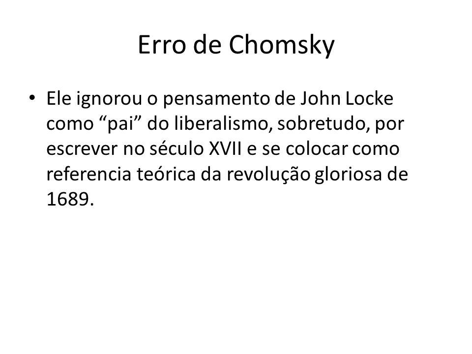 Erro de Chomsky