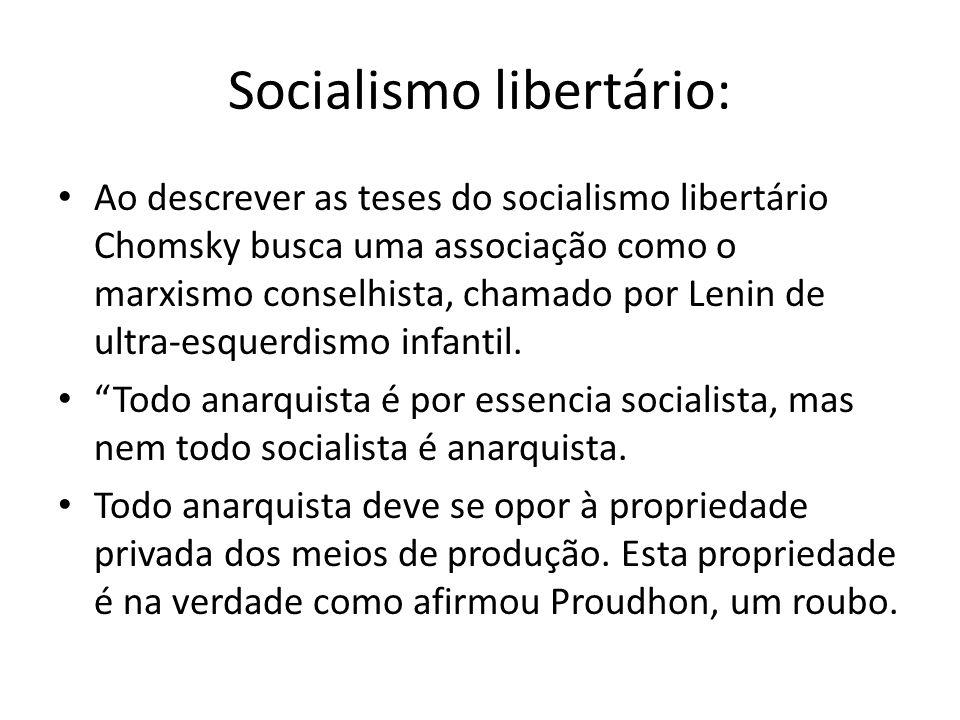 Socialismo libertário: