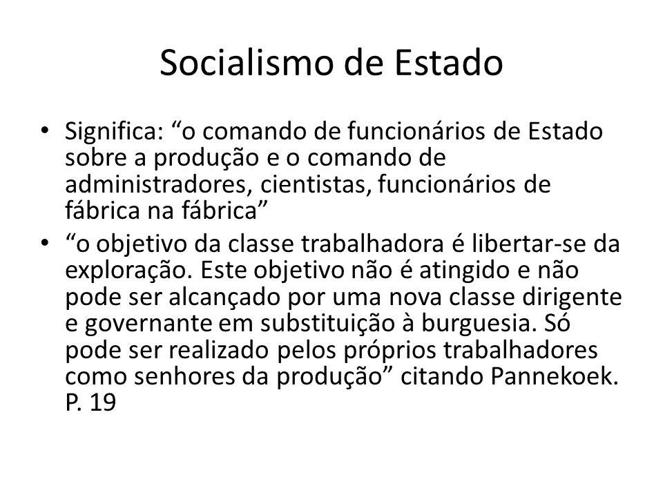 Socialismo de Estado