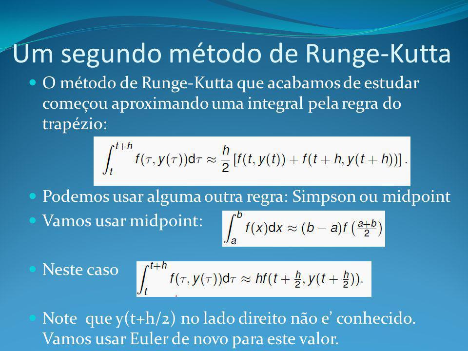 Um segundo método de Runge-Kutta