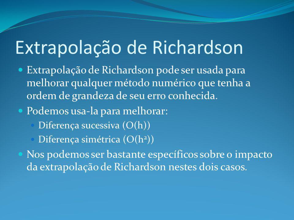 Extrapolação de Richardson
