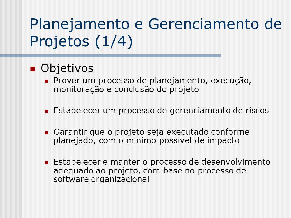 Planejamento e Gerenciamento de Projetos (1/4)