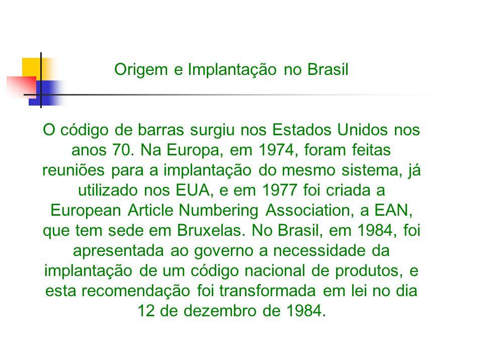 Origem e Implantação no Brasil