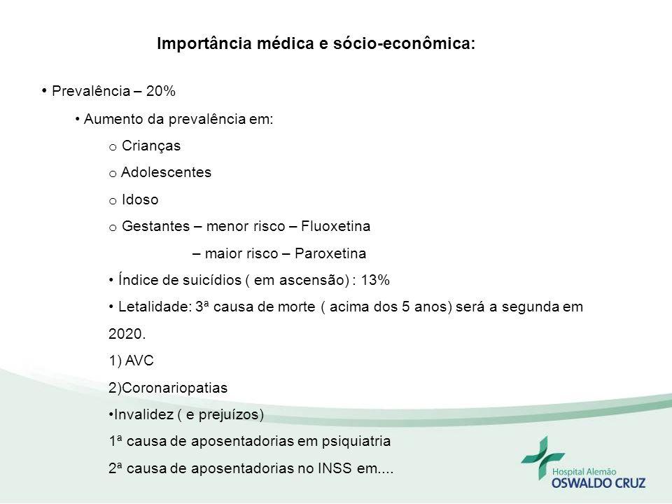 Importância médica e sócio-econômica:
