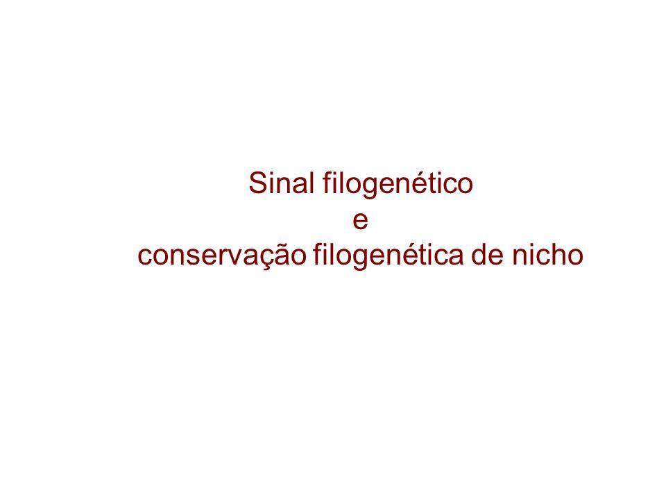 conservação filogenética de nicho