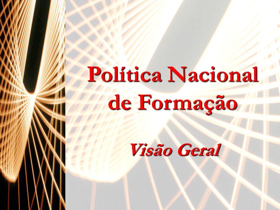 Política Nacional de Formação