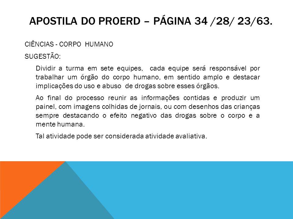 Apostila do proeRd – página 34 /28/ 23/63.