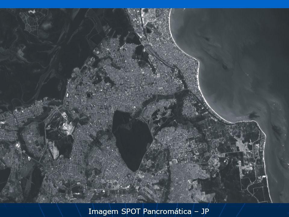 Imagem SPOT Pancromática – JP