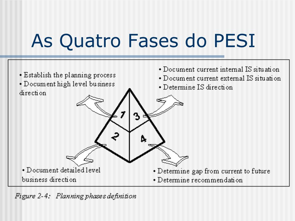 As Quatro Fases do PESI