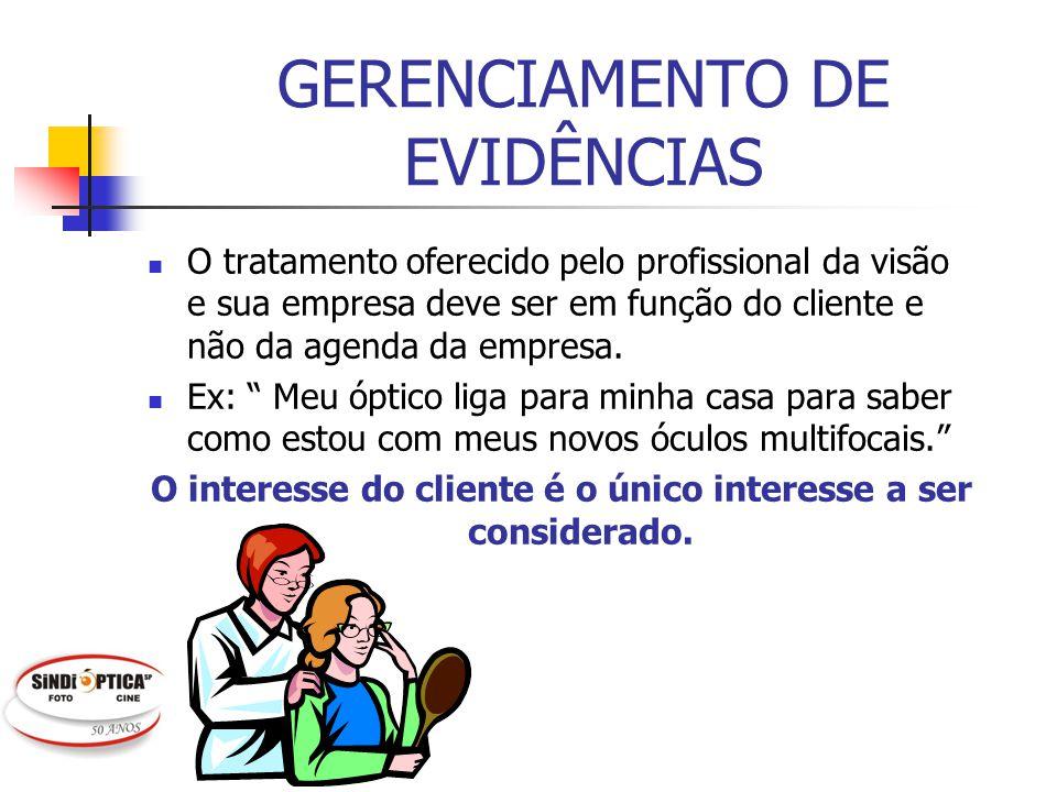 GERENCIAMENTO DE EVIDÊNCIAS