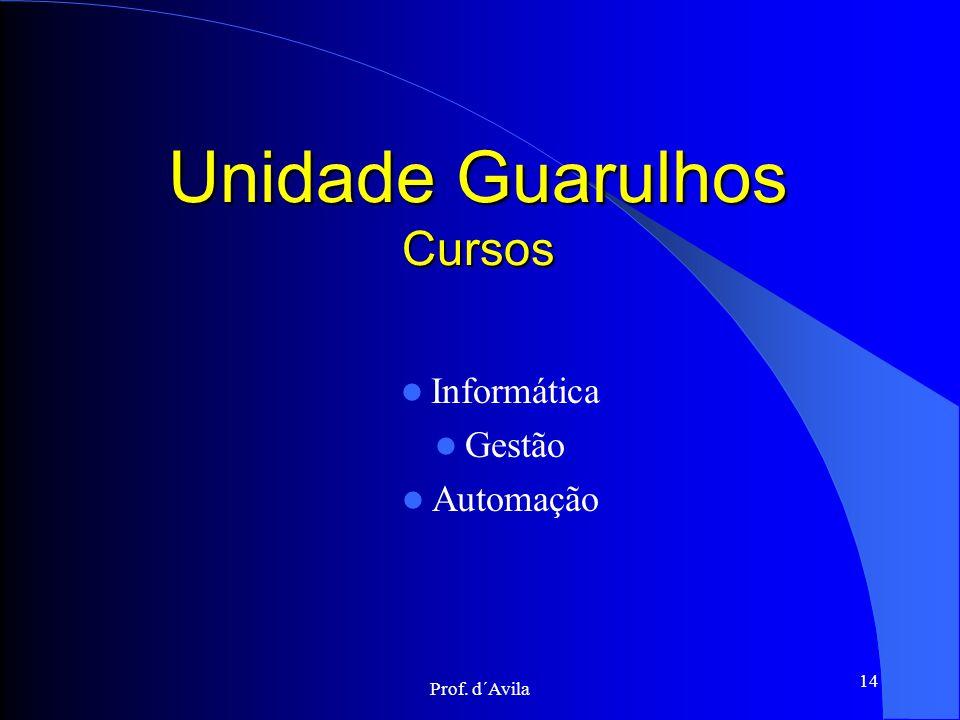 Unidade Guarulhos Cursos