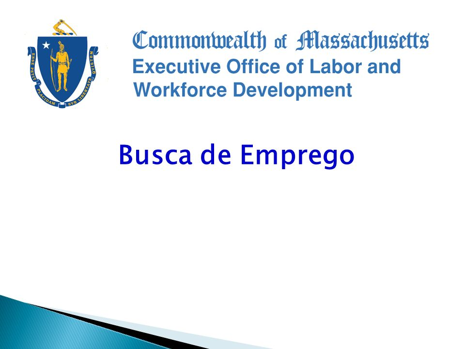 Busca de Emprego This slide is a lead-in to Work Search Logs