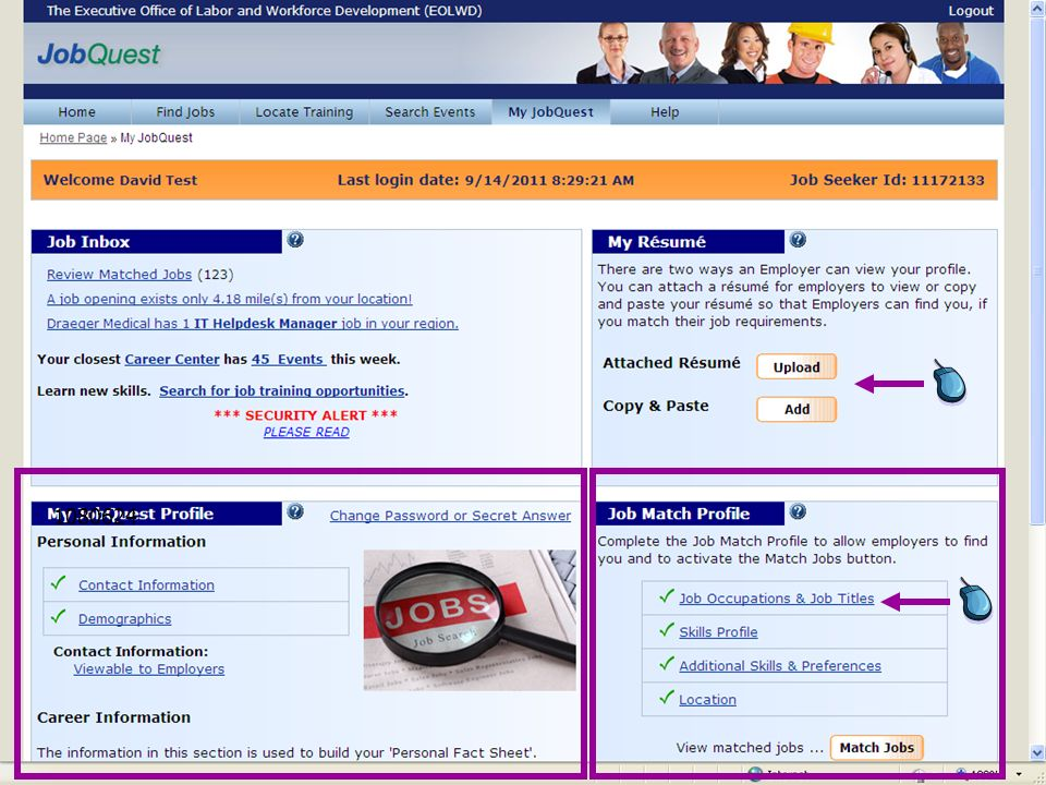 1080624 Show that customers can do a keyword/location match