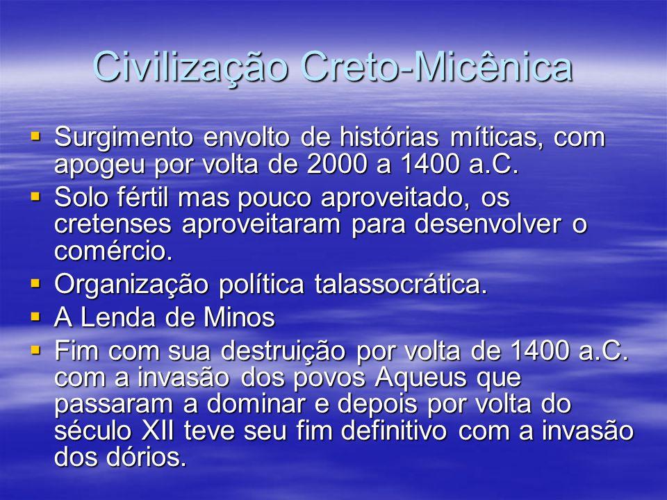 Civilização Creto-Micênica