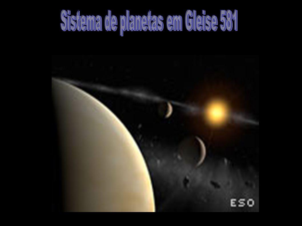 Sistema de planetas em Gleise 581