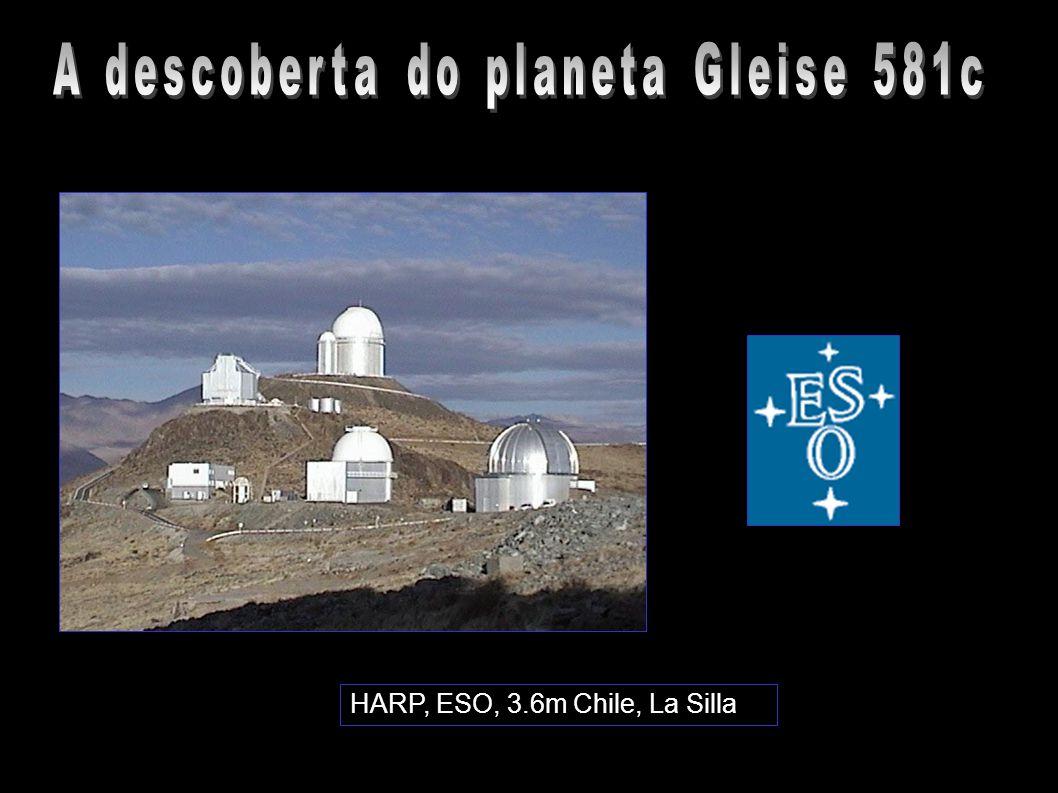 A descoberta do planeta Gleise 581c