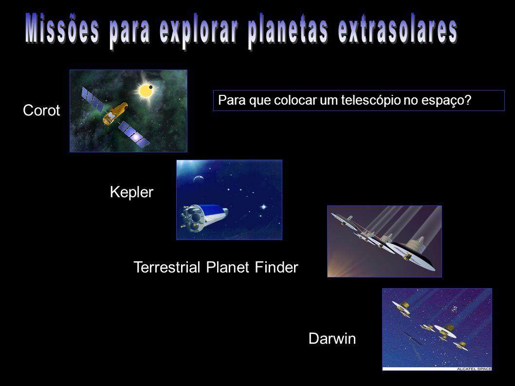 Missões para explorar planetas extrasolares