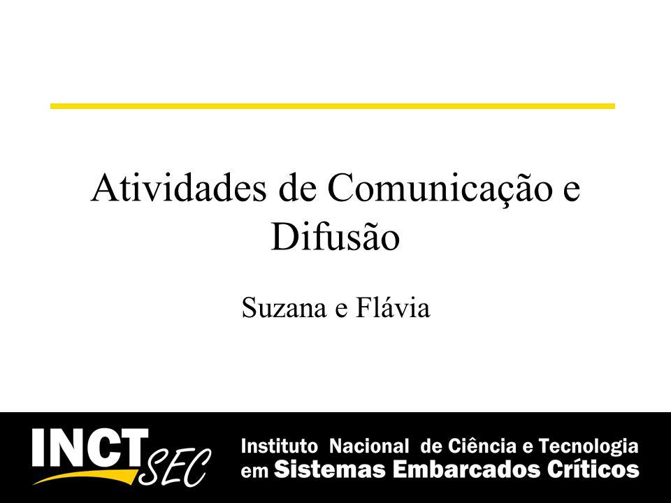 Atividades de Comunicação e Difusão