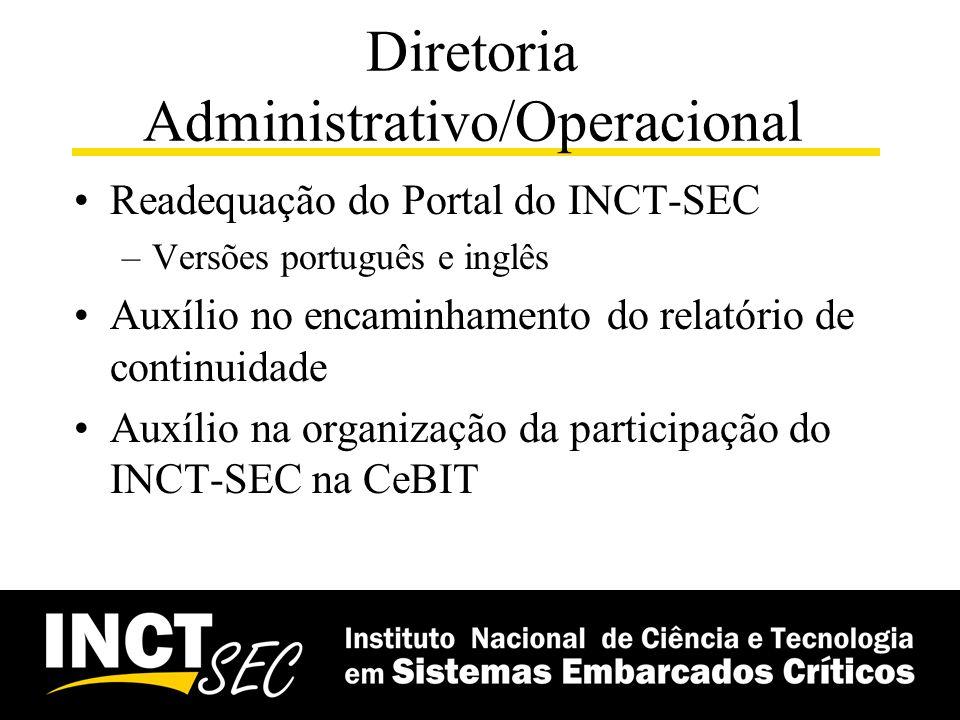 Diretoria Administrativo/Operacional