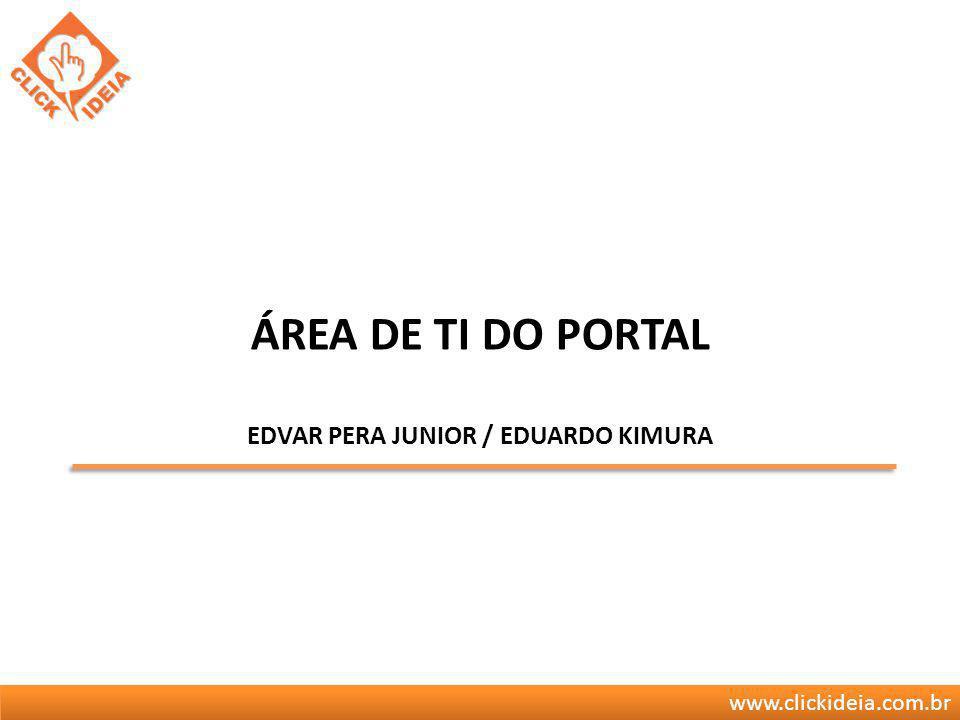 Área de TI do portal Edvar Pera Junior / Eduardo Kimura