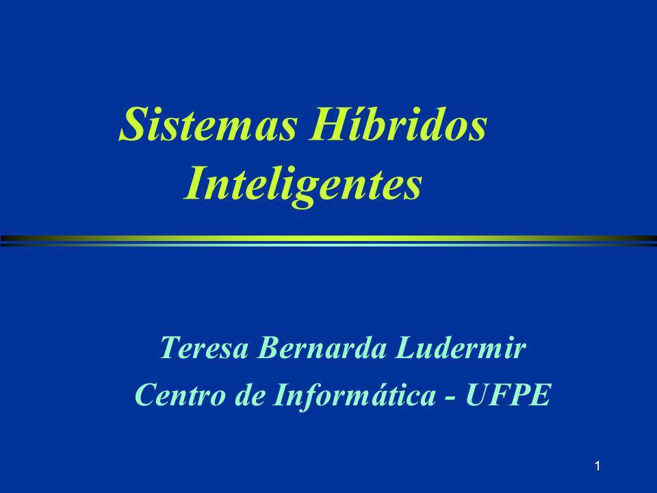 Sistemas Híbridos Inteligentes