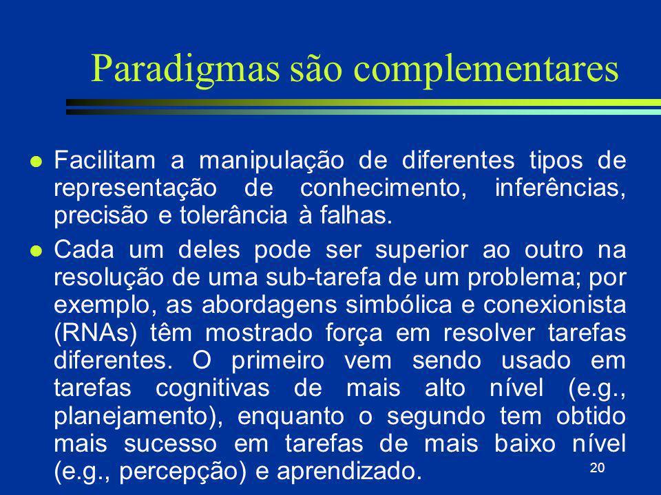 Paradigmas são complementares