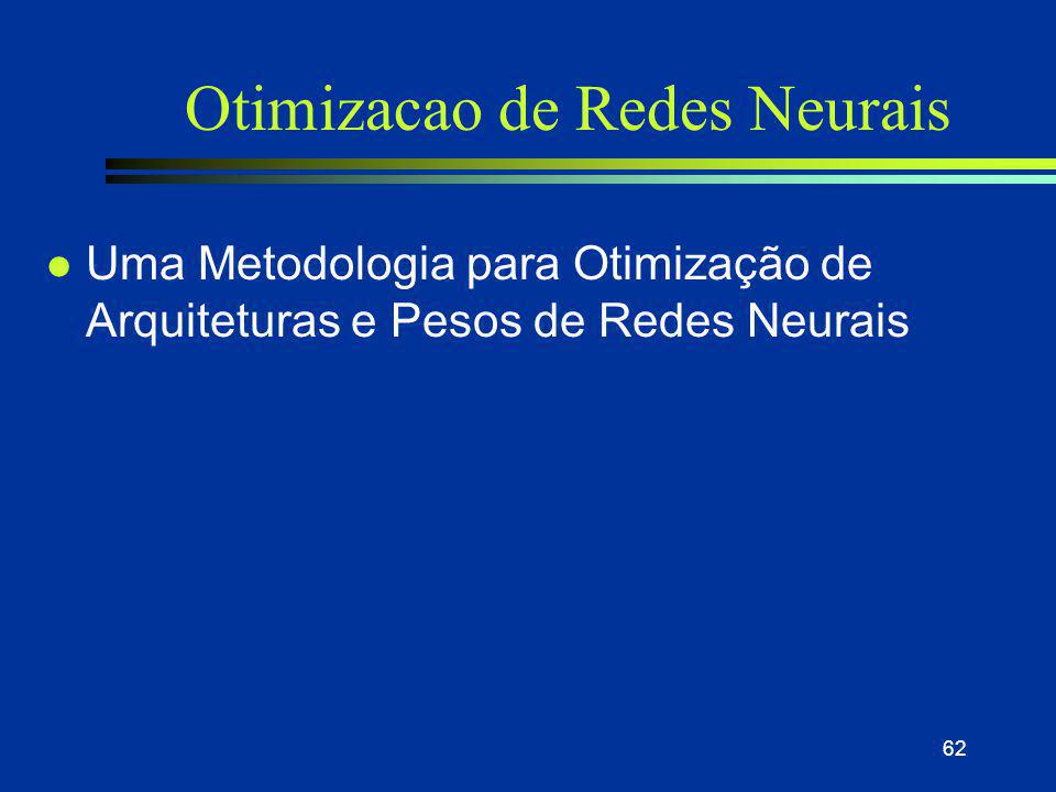 Otimizacao de Redes Neurais
