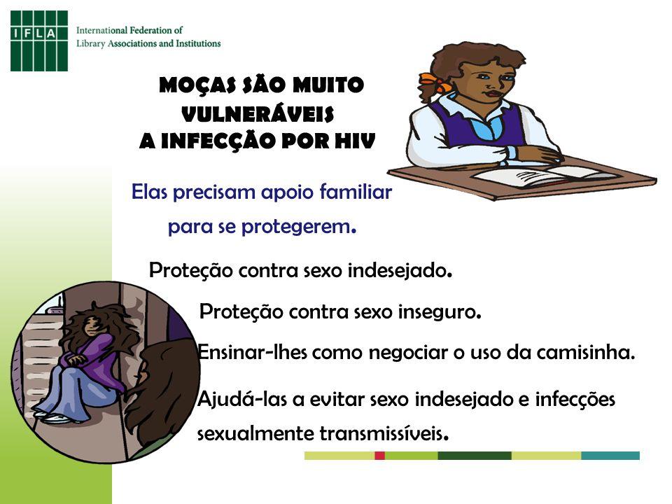MOÇAS SÃO MUITO VULNERÁVEIS A INFECÇÃO POR HIV