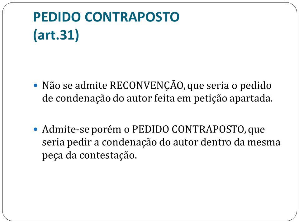 PEDIDO CONTRAPOSTO (art.31)