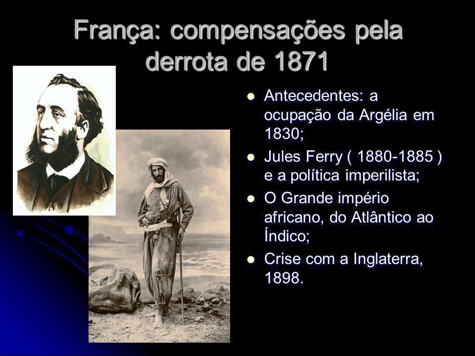 França: compensações pela derrota de 1871