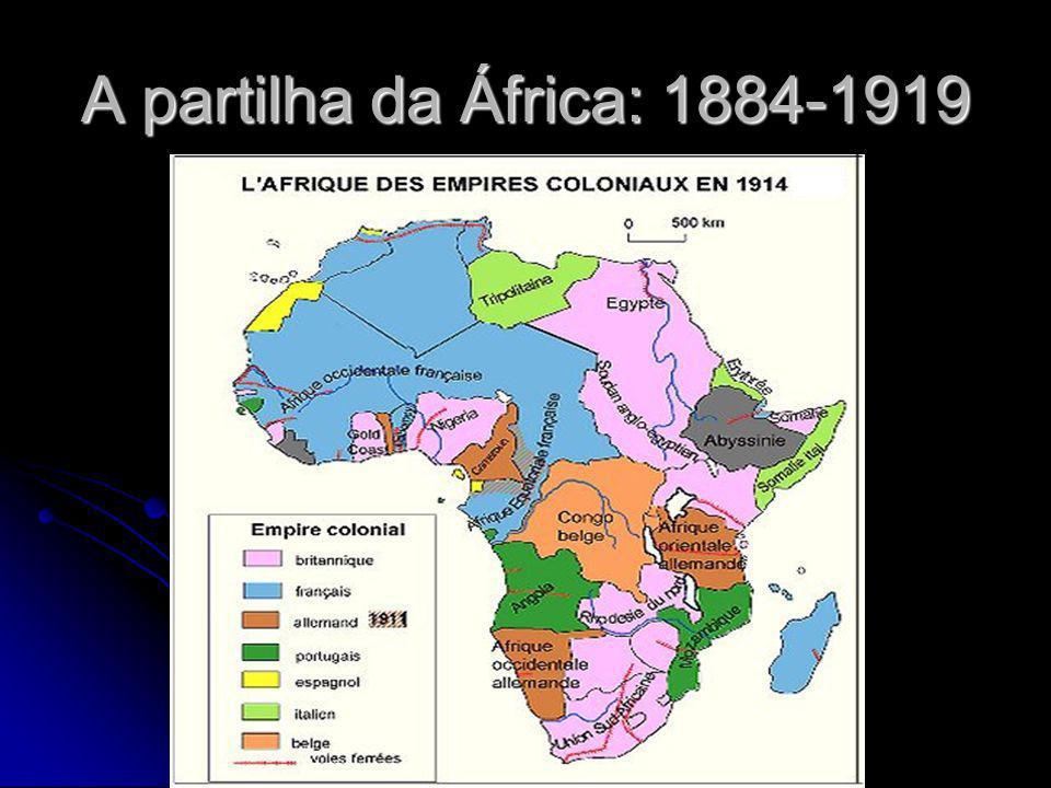 A partilha da África: 1884-1919