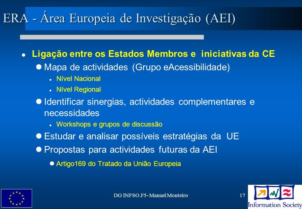 ERA - Área Europeia de Investigação (AEI)