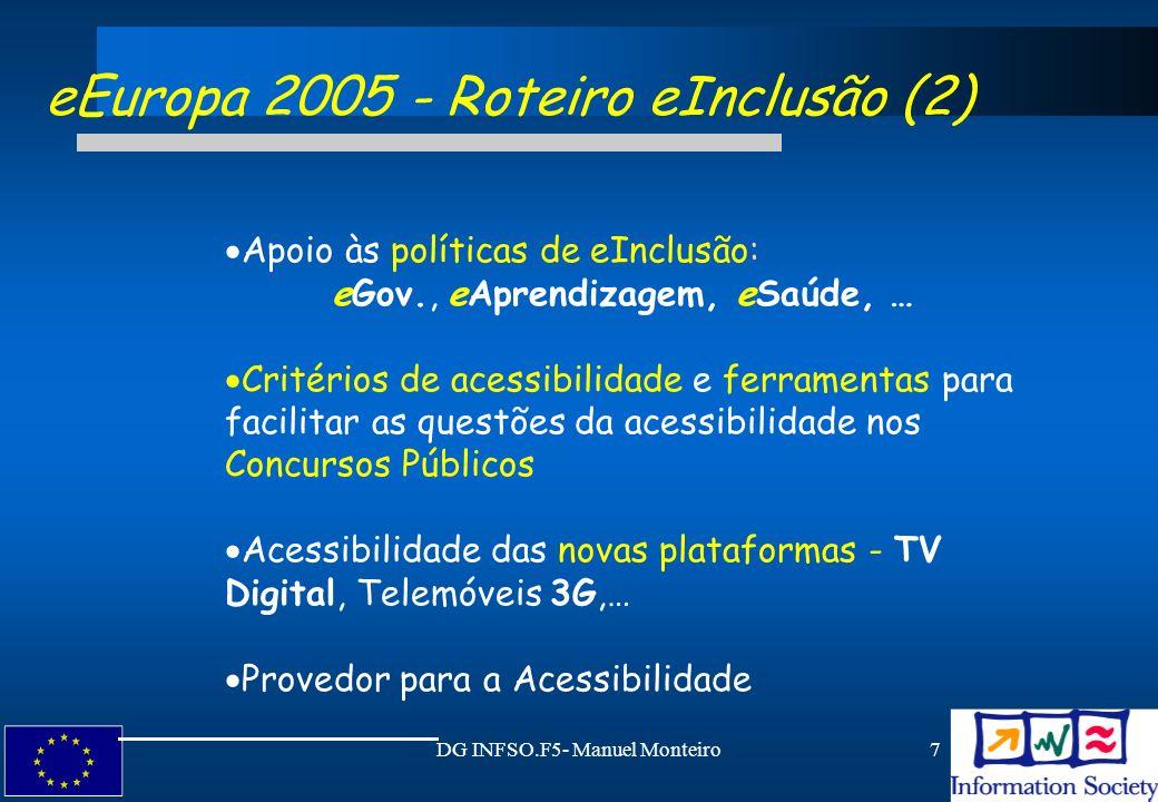 eEuropa 2005 - Roteiro eInclusão (2)