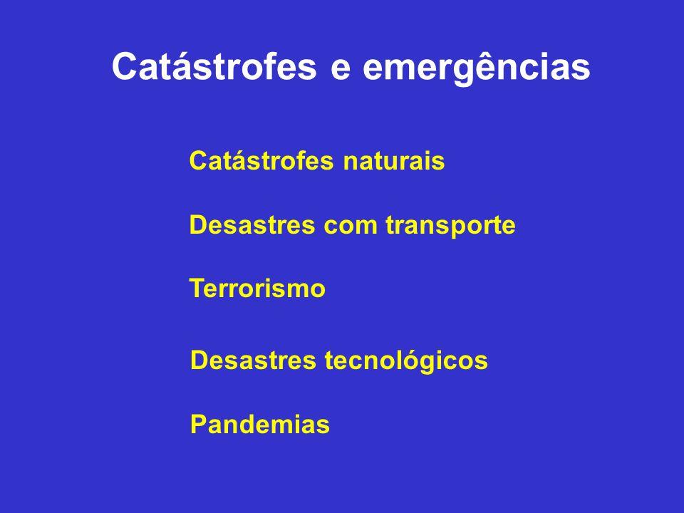 Catástrofes e emergências
