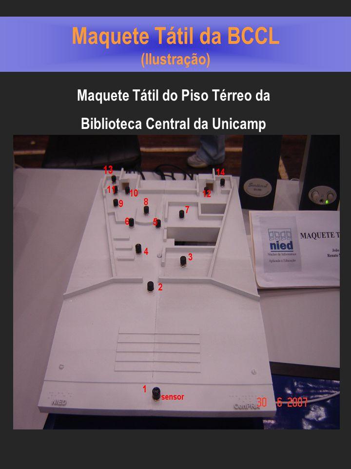 Maquete Tátil da BCCL (Ilustração)