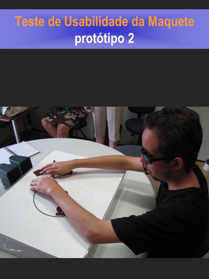 Teste de Usabilidade da Maquete protótipo 2