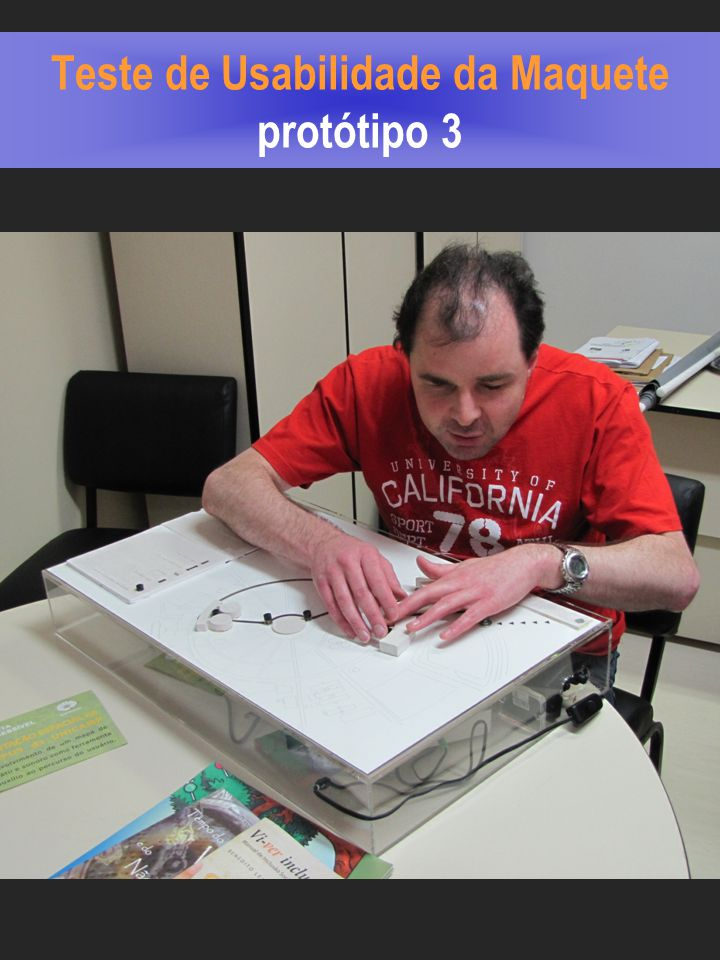 Teste de Usabilidade da Maquete protótipo 3