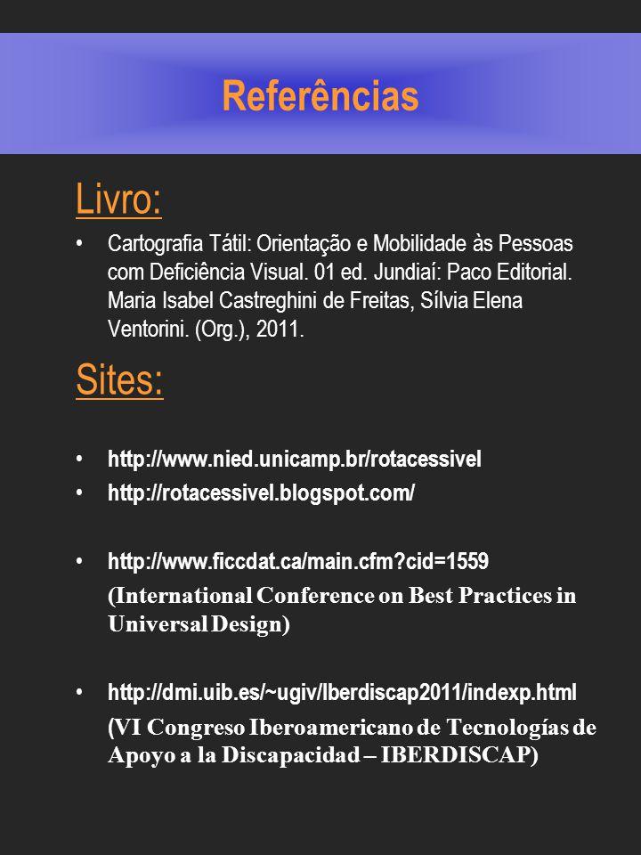 Referências Livro: Sites: