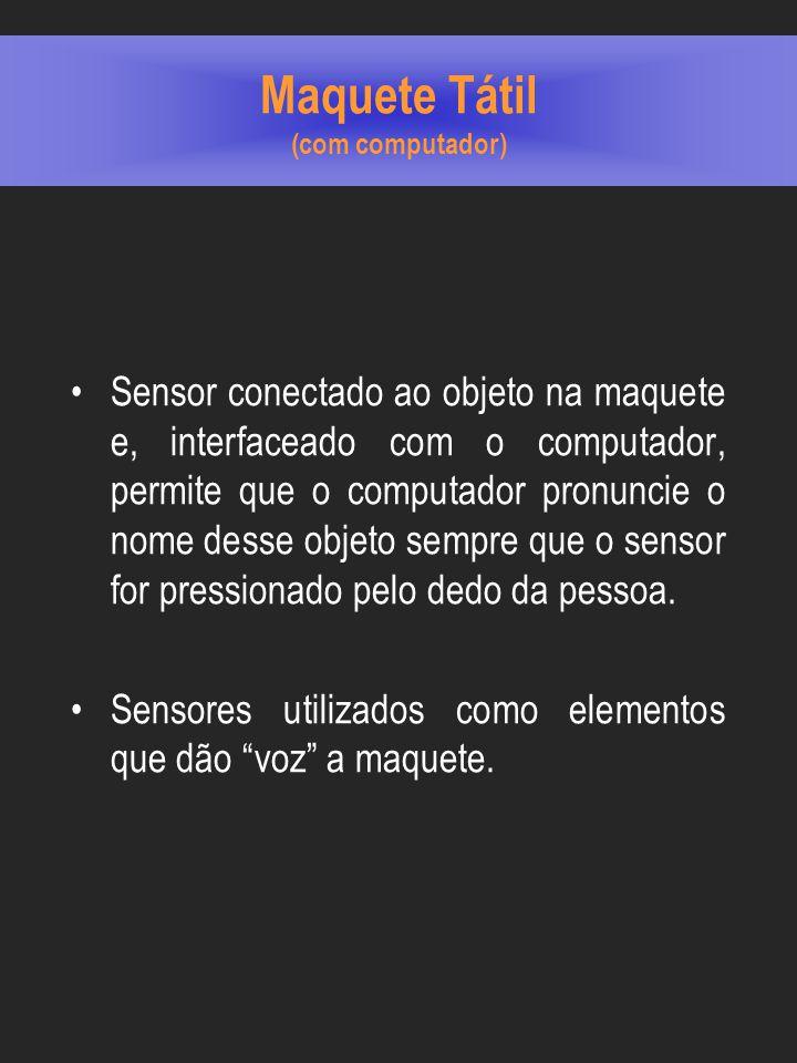 Maquete Tátil (com computador)