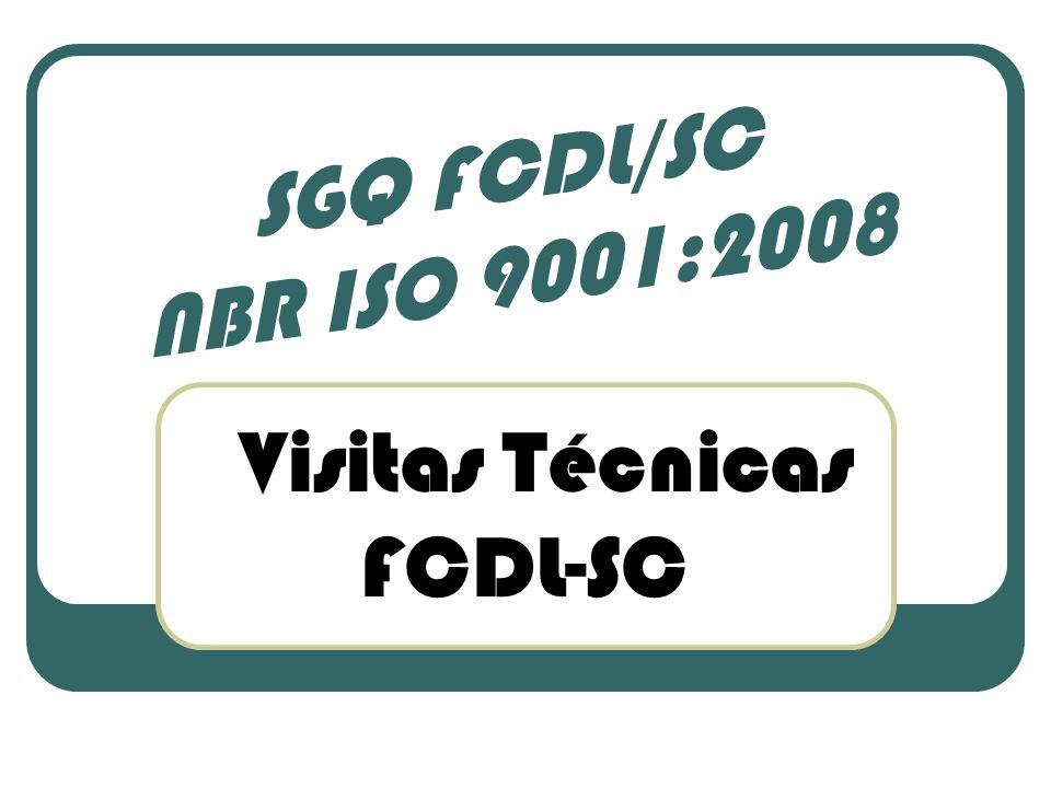 Visitas Técnicas FCDL-SC