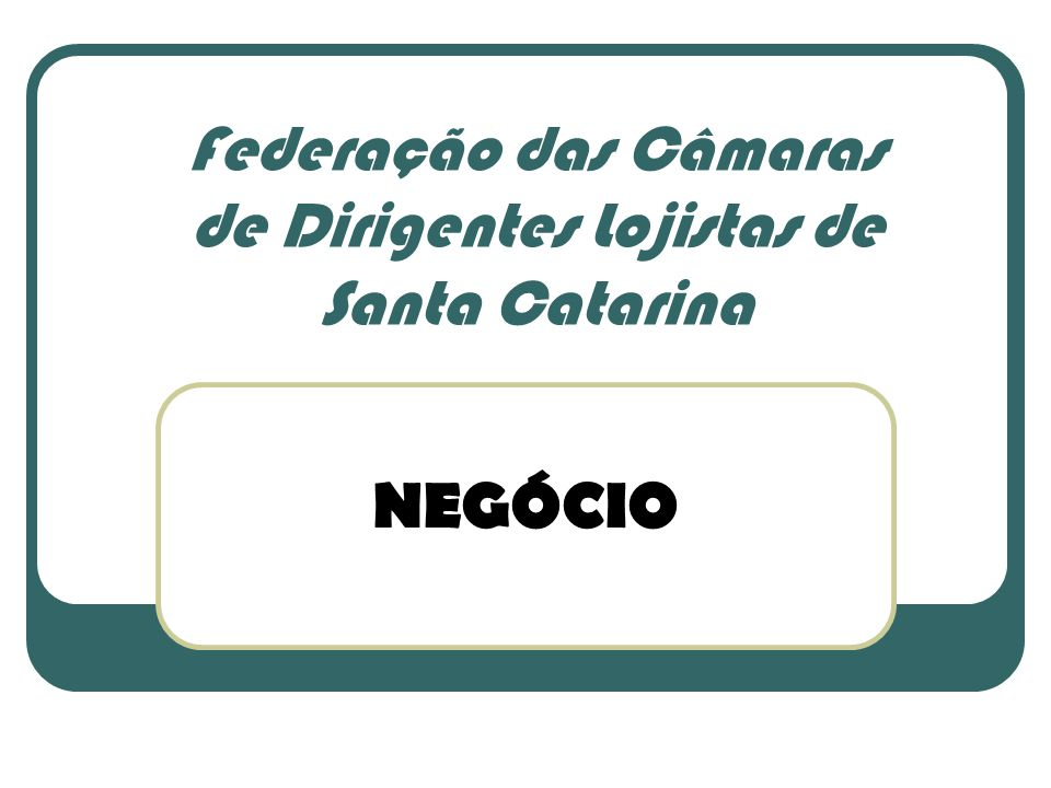 Federação das Câmaras de Dirigentes Lojistas de Santa Catarina